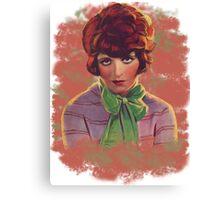 Clara Bow  Canvas Print