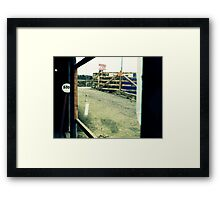 How Many Times Must YOu Be Told? Framed Print