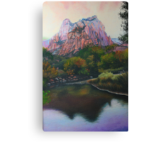 Zions Canyon #1 Canvas Print