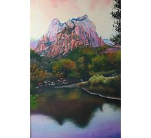 Zions Canyon #1 Photographic Print