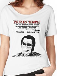 Jim Jones - Peoples Temple Women's Relaxed Fit T-Shirt