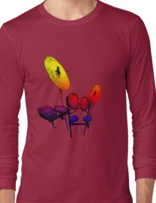 Electric Drum Long Sleeve T-Shirt