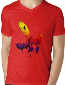 Electric Drum Mens V-Neck T-Shirt