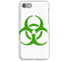 Infection Symbol iPhone Case/Skin