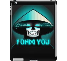 Mortal Kombat X Raiden: I OHM YOU. iPad Case/Skin