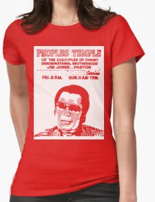 Jim Jones - Peoples Temple Womens Fitted T-Shirt