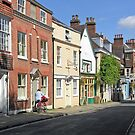 Northern end of Great Minster St, Winchester, southern England by Philip Mitchell
