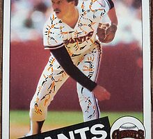 153 - Jeff Cornell by Foob's Baseball Cards