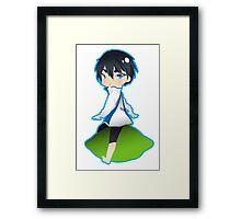 Free!bies - Haruka Nanase Framed Print