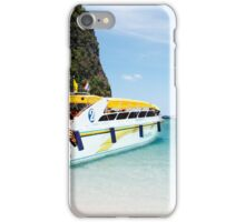 Thailand - Speed boat iPhone Case/Skin