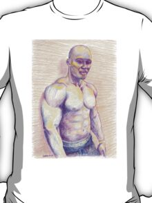 Black Bodybuilder T-Shirt