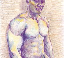 Black Bodybuilder by Lee Lee