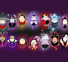 Disney Villains by LaurasLovelies