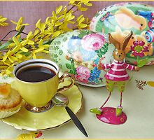 Easter coffee 2 by Paola Svensson