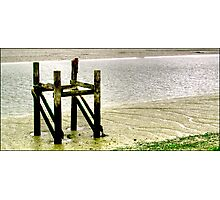 Old Wooden Pier Photographic Print