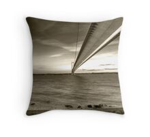 Humber Bridge Throw Pillow