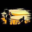 Soldier Champloo  by coinbox tees