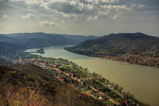 The Danube Bend by Béla Török
