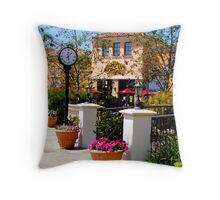 Spring In Lake View  Throw Pillow