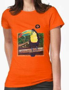 Toucan's Loop Womens Fitted T-Shirt