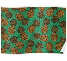 WATERCOLOUR EDITIONS - PINEAPPLE Poster