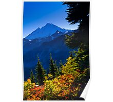 Mount Baker from Artist Point in Autumn Poster