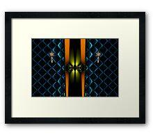 Azure Knocking Framed Print