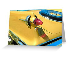 Auto Collection... Greeting Card