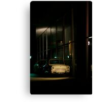 Taxi for one Canvas Print