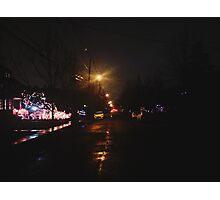 12:33, Christmas near Photographic Print