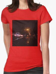 12:33, Christmas near Womens Fitted T-Shirt