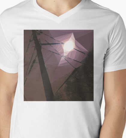 8:42, Lost in Suburbia Mens V-Neck T-Shirt