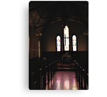 Light streaming Canvas Print