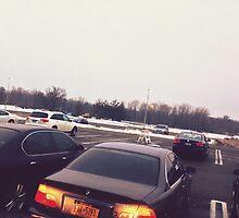 4:56, Rain soaked parking lot by Govinda