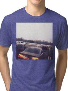 4:56, Rain soaked parking lot Tri-blend T-Shirt