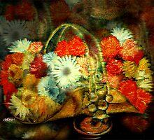 Brass Basket by Seth  Weaver
