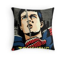 Post-Punk Touch Throw Pillow