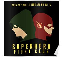 Superhero Fight Club Poster
