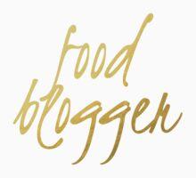 Food Blogger - Faux Gold Foil Kids Tee