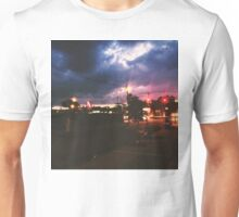 Pizza Time during a storm Unisex T-Shirt