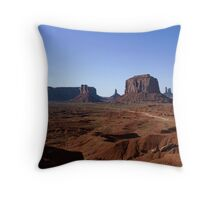 John Fords Lookout Point Throw Pillow