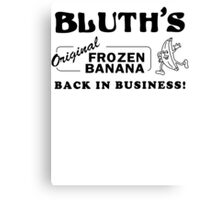 Bluth Banana Stand Canvas Print