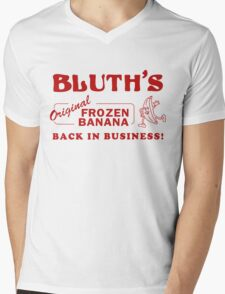 Bluth Banana Stand Mens V-Neck T-Shirt