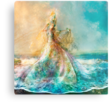 The Shell Maiden Metal Print