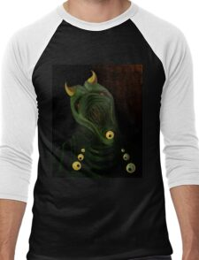 Demon Men's Baseball ¾ T-Shirt
