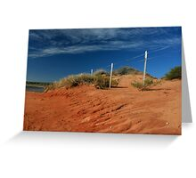 Shark Bay Greeting Card