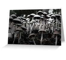 fungal fantasy Greeting Card