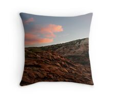 Red Bluff Throw Pillow