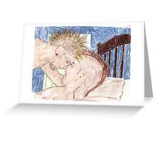 1st love Greeting Card