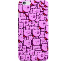 Kirby WTF !!! iPhone Case/Skin